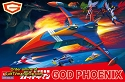 PREORDER: Gatchaman: God Phoenix (from Battle of the Planets) with LEDs from Academy - $84.99 - PREORDER RESERVATION