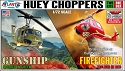 Huey Helicopter - 2 kit set - 1:72 Monogram reissue from Atlantis - PREORDER RESERVATION