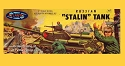 Russian Stalin Tank - 1:48 - Aurora reissue from Atlantis - PREORDER RESERVATION