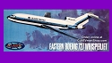 727 Whisper Jet Airliner Eastern Airlines - 1:96 - Aurora reissue from Atlantis - PREORDER RESERVATION