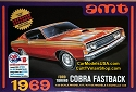 1969 Ford Torino Cobra Fastback - 1:25 from AMT/Round 2