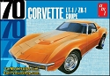 1970 Chevy Corvette Coupe 1:25 scale from AMT/Round 2