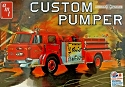 American LaFrance Custom Pumper Fire Truck - 1:25 Scale from AMT/Round 2