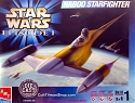Naboo Fighter DIE CAST kit from AMT