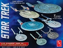 USS Enterprise Collection - 1:2500 scale from Round 2/AMT