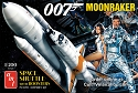NEW: Moonraker Shuttle with Boosters (James Bond) - 1:200 scale from Round 2/AMT