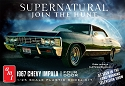 NEW Supernatural 1967 Chevy Impala 4 door - 1:25 from AMT/Round 2