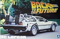 Back to the Future Delorean from Aoshima
