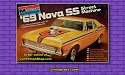 PREORDER 1969 Chevy Nova SS Route 32 -  1:32 scale - Monogram reissue from Atlantis - $19.99 - PREORDER RESERVATION