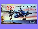 S2F Hunter Killer US Navy 1:54 - Aurora reissue from Atlantis - PREORDER RESERVATION