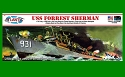 USS Forrest Sherman Destroyer 1:320 scale - Revell reissue from Atlantis SCRATCH AND DENT