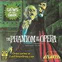 PREORDER Glow Phantom of the Opera - Aurora reissue from Atlantis - $25.99 -  PREORDER RESERVATION