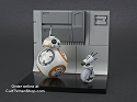 BB-8 with D-0 diorama - The Rise Skywalker - 1:12 - from Bandai - PREORDER RESERVATION