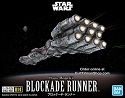 Rebel Blockade Runner mini kits from Bandai
