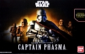 Force Awakens Captain Phasma 1:12 figure kit from Bandai