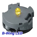 Yellow LED lighting unit (for B-Wing)  from Bandai