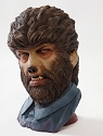 The Wolfman- 1:1 scale 360° Series unpainted bust from Black Heart