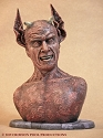 Haxon Devil - 1:4 scale bust from Crimson Pool Productions