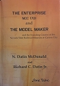 The Enterprise NCC 1701 and The Model Maker by N. Datin McDonald AUTOGRAPHED