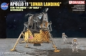 Apollo 11 Lunar Landing Columbia and Eagle 1:72 model kit from Dragon Models