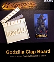 Monsters of the Movies Zilla nameplate from Cult of Personality/JTGraphics