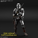 PREORODER: The Mandalorian (Beskar Armor) (PLATED version) - 1:12 scale from Bandai - $59.99 - PREORDER RESERVATION