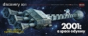 NEW:  2001 Discovery - 1:350 scale  from Moebius Models