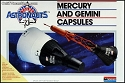 Mercury/Gemini Capsule Set 1:48 1987 reissue from Monogram - OPEN BOX KIT