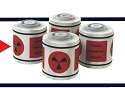Space 1999 Nuclear Waste Canisters 1:48 scale from MPC/Round 2
