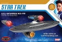 USS Enterprise (from ST:Discovery) 1:2500 scale from Round 2/Polar Lights