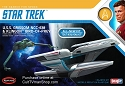 USS Grissom/Klingon Bird of Prey 1:1000 from Round 2/Polar Lights SCRATCH AND DENT