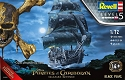 The Black Pearl - Pirates of The Caribbean 1:72 scale from Revell Germany