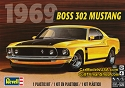 1969 Boss 302 Mustang 1:25 from Revell