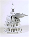 Earth vs. The Flying Saucers vs. the Capitol diorama from Skyhook