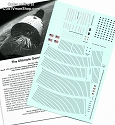 Gemini Spacecraft 1:48 scale decals REVISED from Space Model Systems