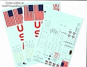 Saturn V 1:72 scale decals REVISED from CultTVman/Space Model Systems