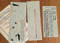 Starship decals 1:1000 scale from Starfighter Decals