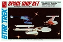 Classic 3 Ship Set (1983 reissue) from AMT