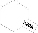 Acrylic Thinner X-20A  10ml from Tamiya
