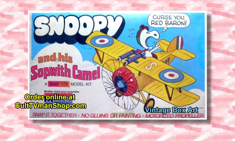 Snoopy and the Sopwith Camel box