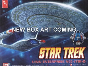 Enterprise-D 1:2500 from Round 2/Polar Lights (2019 reissue) - PREORDER RESERVATION