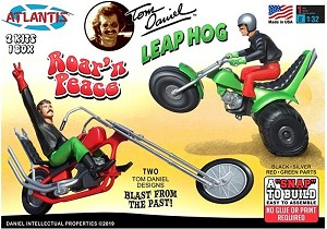 Tom Daniel's Leap Hog & Roar'N Peace - 1:24 - Monogram reissue from Atlantis