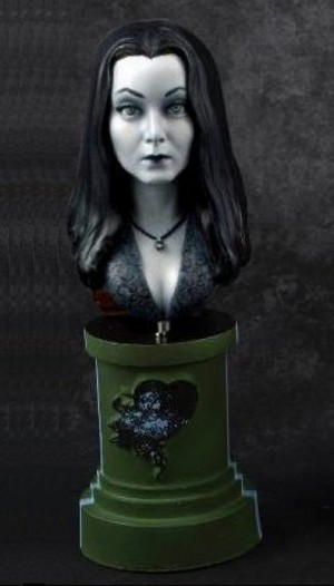 Morticia - MicroMania Bust from Black Heart