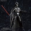 Darth Vader with light saber and helmet
