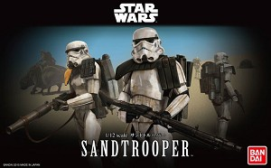 Sandtrooper 1:12 figure kit from Bandai
