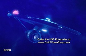 USS Enterprise (from ST:Discovery) 1:2500 scale from Round 2/Polar Lights - PREORDER RESERVATION