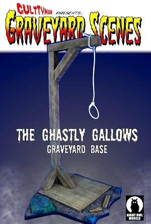 The Ghastly Gallows - Graveyard Scenes