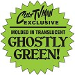 Ghostly Green Sticker