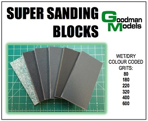 Super Sanding Blocks from Goodman Models
