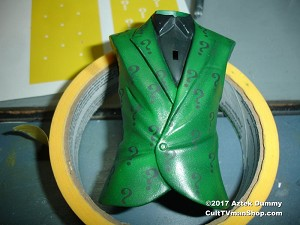 Question Mark paint masks from Aztek Dummy